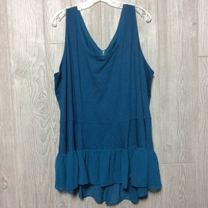 NEW Lane Bryant teal tank PLUS SIZE
